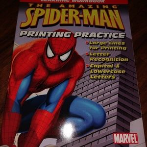 New never used 2007 Spider-Man printing practice